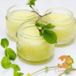 crème au citron et lait de chamelle