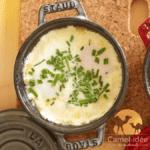 œuf cocotte au lait de chamelle